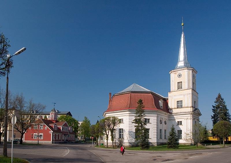 St John's Church in Valga, Estonia by Visit Estonia