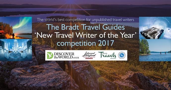 Travel writing banner