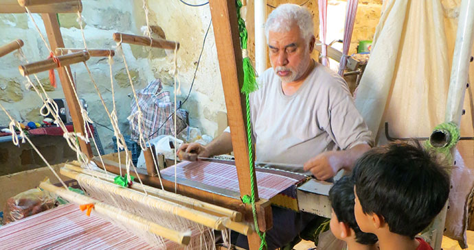 Weaver, Shushtar, Iran, Middle-east by Maria Oleinik