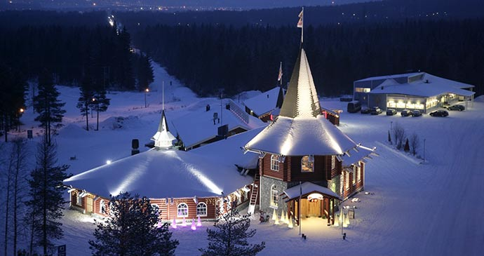 Santa Claus Village © Rovaniemi Tourism & Marketing