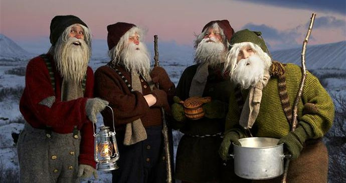 Christmas lads Iceland Europe by © mittlegrad, Wikimedia Commons