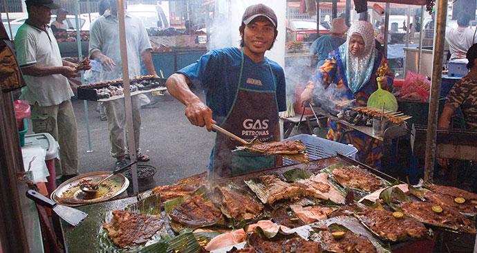 Market, Malaysia, Borneo, Asia by Sarawaktourism