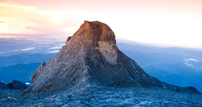 St. John's peak, Gunung Kinabalu National Park, Malaysia, Borneo, Asia by Tappasan Phurisamrit, Shutterstock