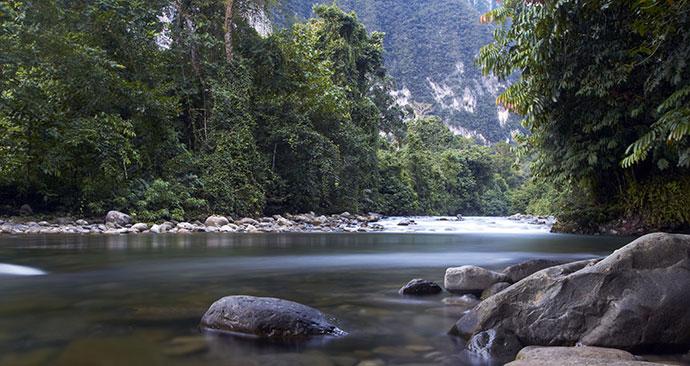 Gunung Mulu National Park, Sarawak, Malaysia, Borneo, Asia, Kim Briers, Shutterstock