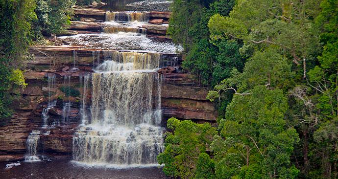 Maliau Falls, Sabah, Malaysia, Borneo, Asia by Sabah Tourism