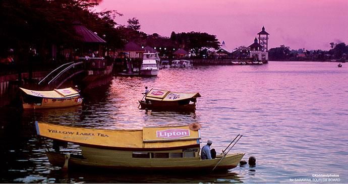 Boat, Brunei, Asia by Sarawaktourism
