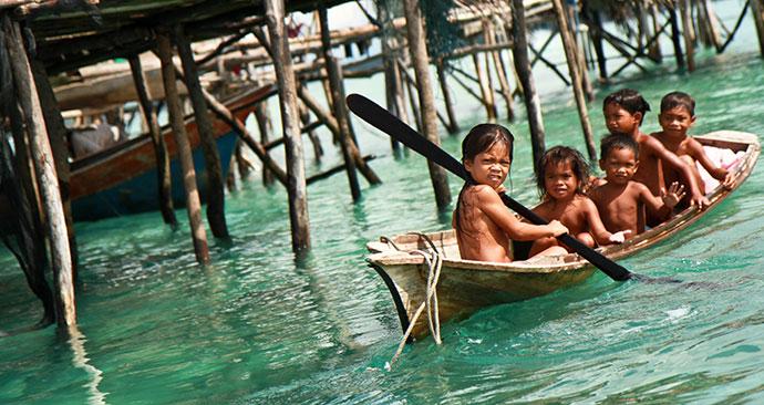 Boat, Malaysia, Borneo, Asia by Faiz Zaki, Shutterstock