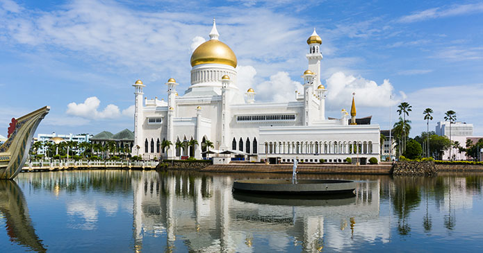 Istana Nurul Iman, Brunei, Asia by AHMAD FAIZAL YAHYA, Shutterstock