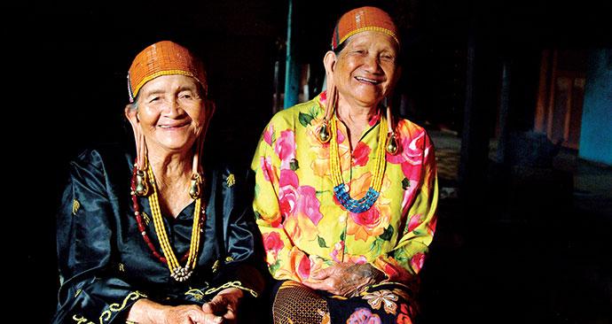 Women, Borneo, Malaysia, Asia by Sarawaktourism