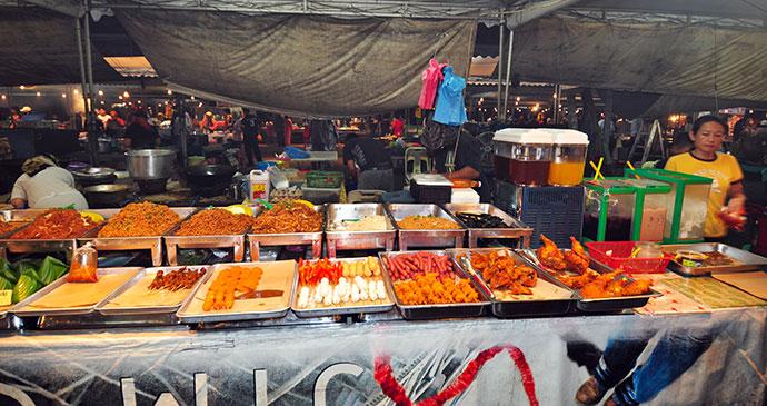 Market, Brunei, Asia by Jan S., Shutterstock