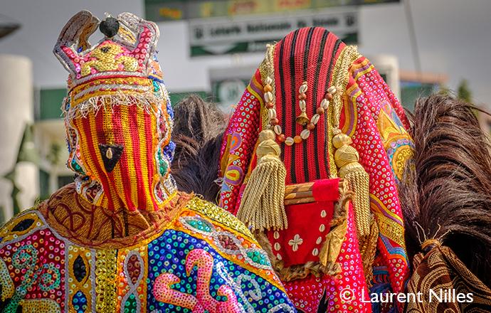 Egungun Porto-Novo Benin by Laurent Nilles