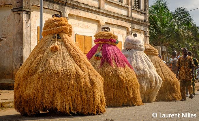 Zangbeto Voodoo culture Benin Laurent Nilles