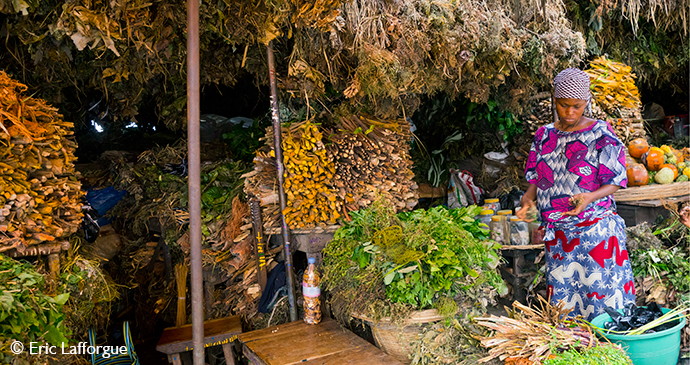 Dantokpa Market Cotonou Benin by Eric Lafforgue