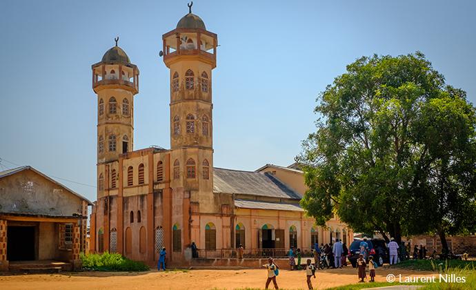 Mosque Ouidah Benin by Laurent Nilles