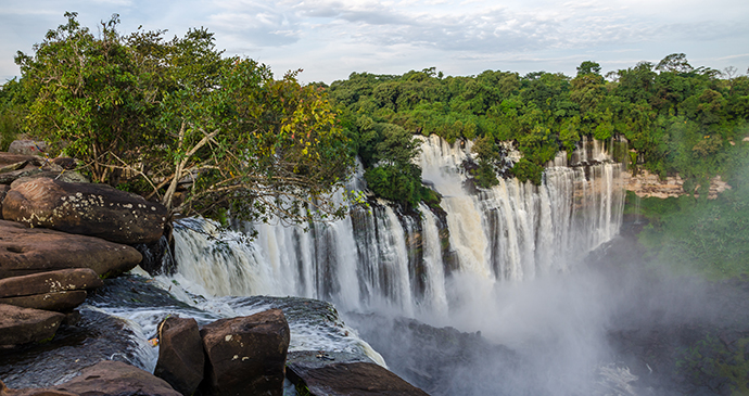 Kalandula Falls, Angola by Fabian Plock, Shutterstock