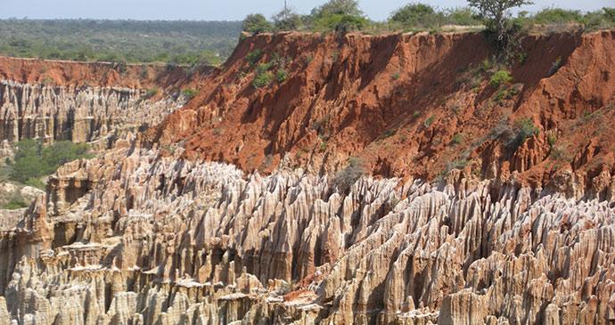 Miradouro da Lua, Angola by mbrand85, Shutterstock