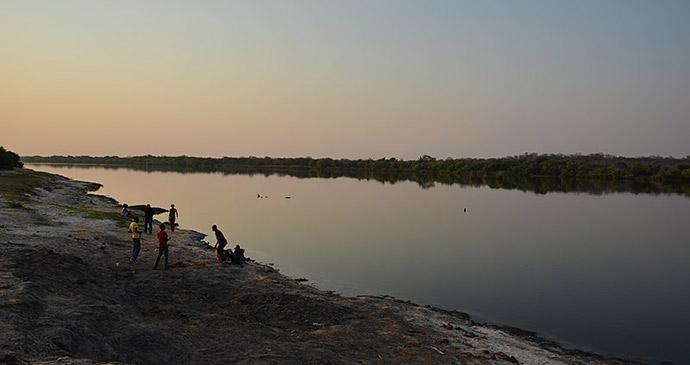Chobe River, Kasane, Botswana by Pavel Špindler, Wikimedia Commons