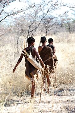 San people, Botswana by marzia franceschini, Shutterstock