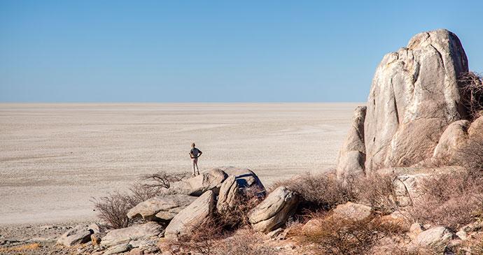 Makgadikgadi salt pans Botswana by © Jandrie Lombard, Shutterstock