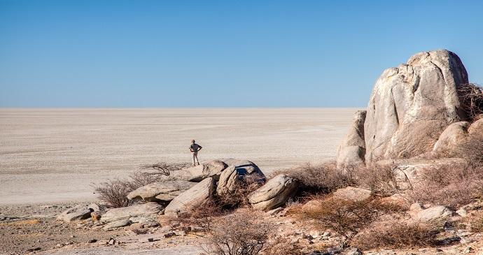 Makgadikgadi Pans, Botswana by Jandrie Lombard, Shutterstock