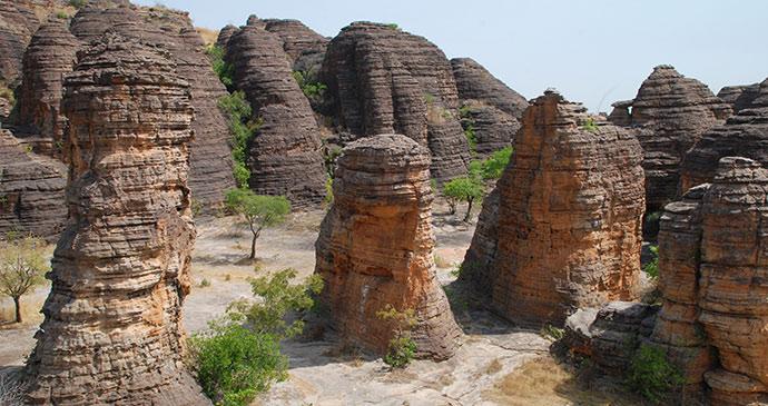 Domes de Fabedougou Burkina Faso Africa by Jim O'Brien