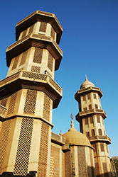 Grand Mosque Ouagadougou Burkina Faso Africa by Trevor Kittelty Shutterstock