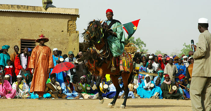 Horse festival Burkina Faso Africa by Katrina Manson and James Knight