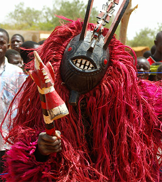 Mask Burkina Faso Africa by Katrina Manson and James Knight
