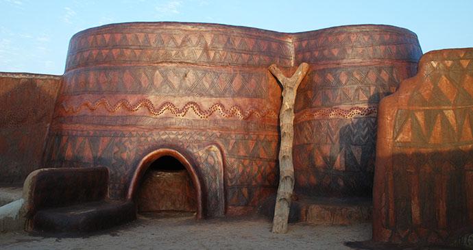 Tiebele Burkina Faso Africa by Katrina Manson and James Knight