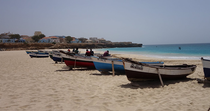 Fishermen Porto Ingles Beach Maio Cape Verde Martin Haigh