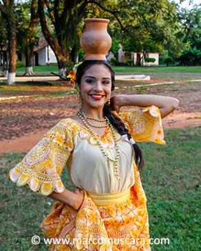 Girl in Santa María de Fe, Paraguay by Marco Muscarà