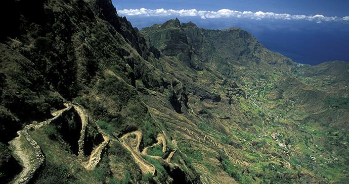 Landscape, Ponto do Sol, Santo Antao, Cape Verde