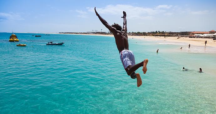 Santa Maria das Dores Beach, Sal Island, Cape Verde