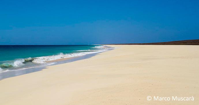Santa Mónica Beach Boavista Island, Cape Verde, Marco Muscarà