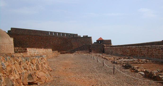 Interior of the Fort de São Filipe, Cidade Velha, Cape Verde