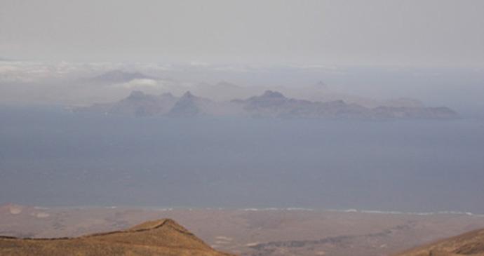 Santo Antao mountains, Cape Verde