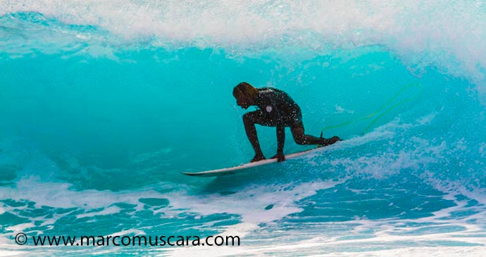 Surfer sal CApe Verde by Marco Muscara