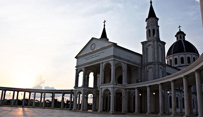 Mongomo Basilica Equatorial Guinea by Oscar Scafidi