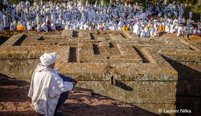 Lalibela Ethiopia by Laurent Nilles