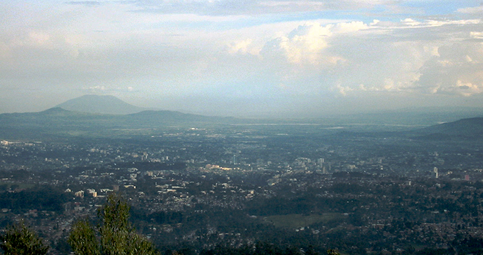 Entoto Hills Ethiopia by Philip Kromer, Flickr