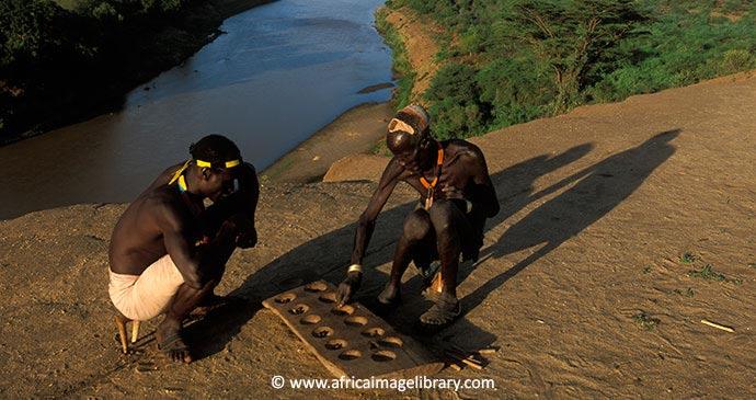 Karo men Omo Valley Ethiopia by Ariadne Van Zandbergen