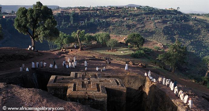 Lalibela Ethiopia by Africa Image Library Ariadne Van Zandbergen