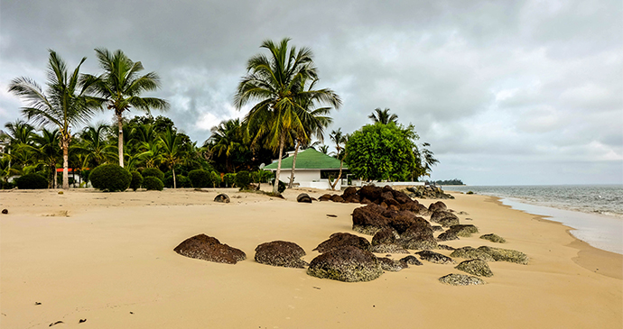 Beach Rest in Gabon by Bogdan Skaskiv Shutterstock