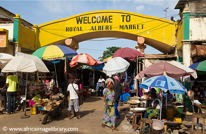 Albert Market Banjul The Gambia by Africa Image Library best markets in the world