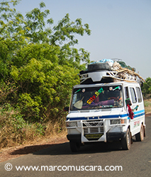 Local bus, The Gambia by Marco Muscarà