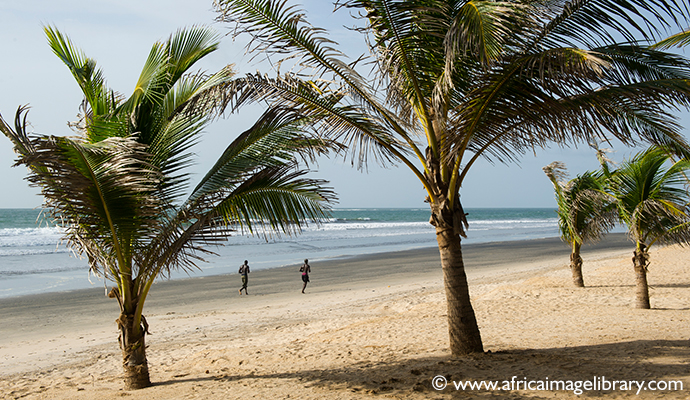 Kololi beach, The Gambia Africa by Ariadne Van Zandbergen