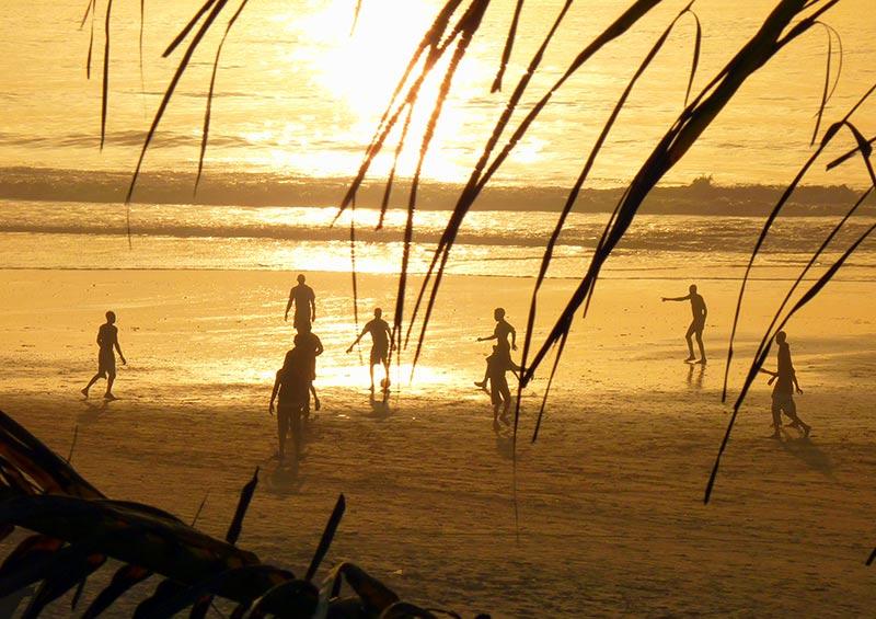 Sunset, beach, The Gambia by Bart Brouwer, Shutterstock