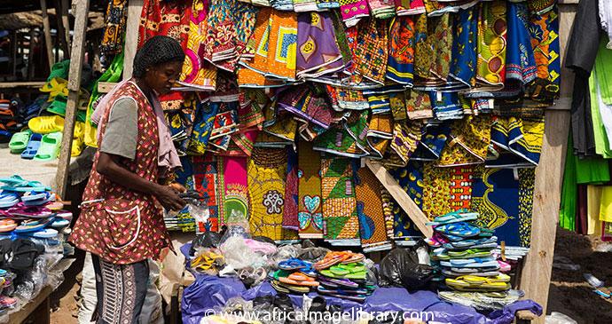 Agomanya Market Ghana © Ariadne Van Zandbergen