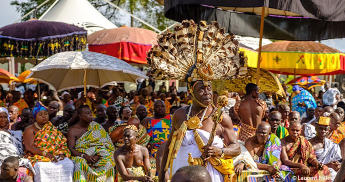 Asante Akwasidae Festival, Kumasi, Ghana, by Laurent Nilles