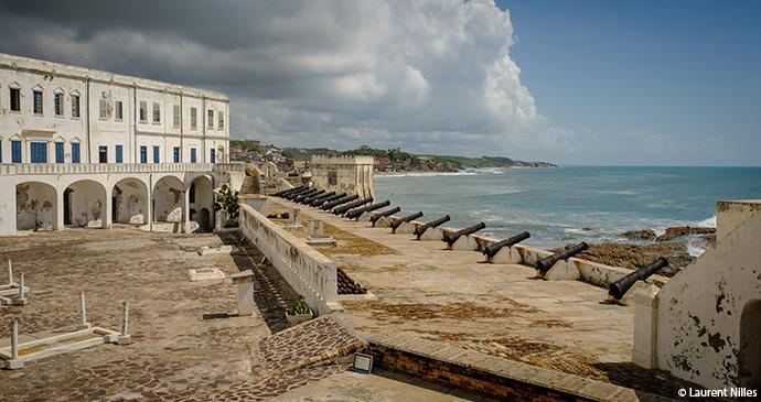 St George's Castle, Elmina, oldest colonial building, by Laurent Nilles